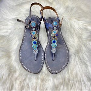 NEW Anthropologie Laidback  London Hague Sandals